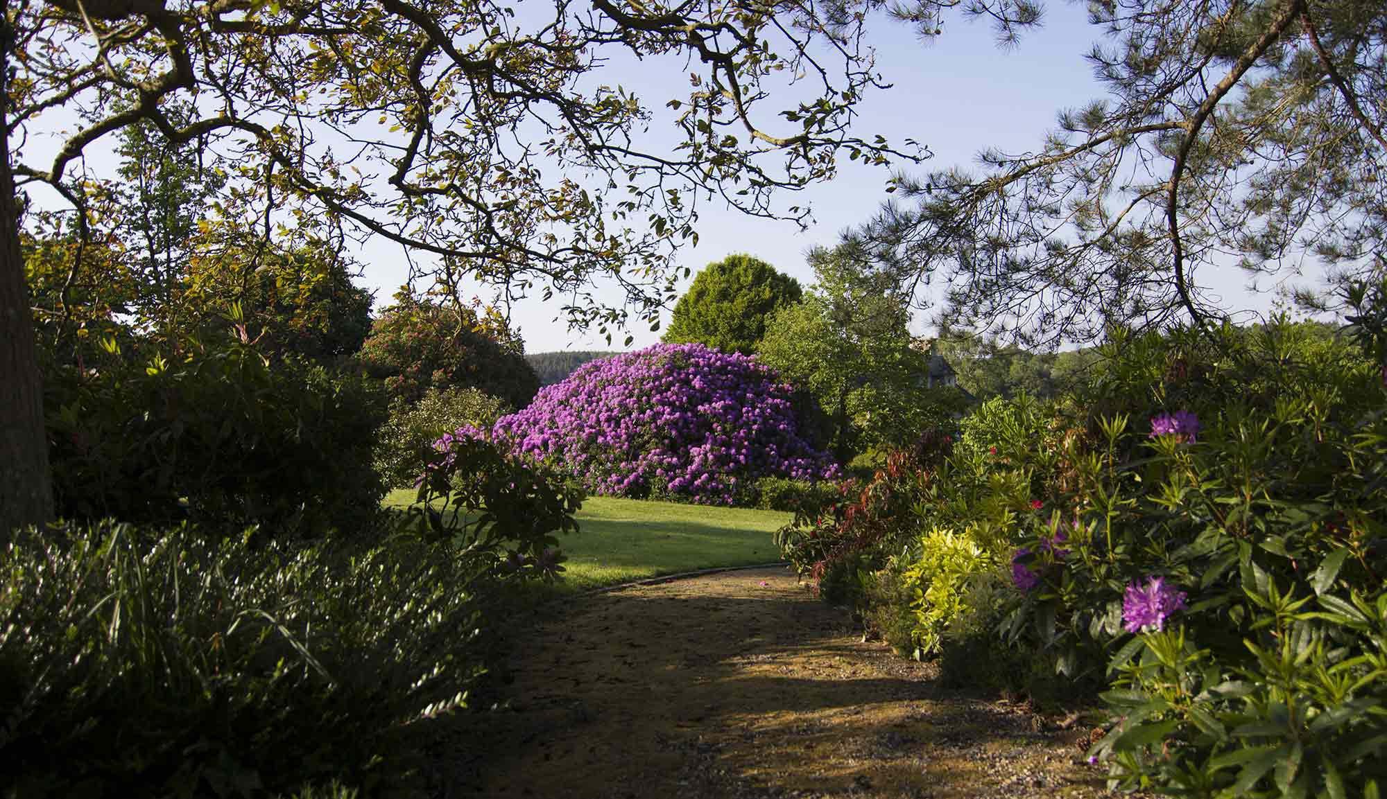 Site privilégié : 9 ha clos, arboré, paysagé et fleuri